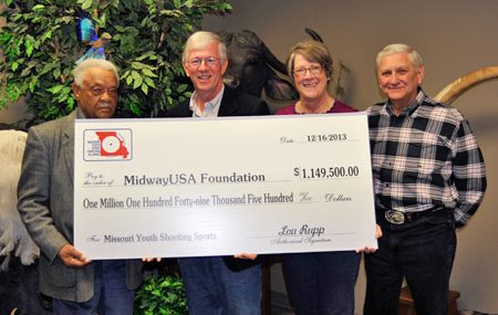 Missouri Youth Sport Shooting Alliance Gives Over One Million Dollars to Youth Shooting Sports